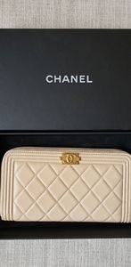 Boy Chanel Long Zipped Wallet